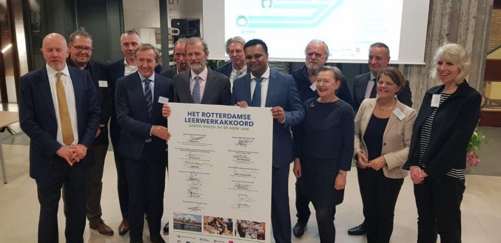 Rotterdams Leerwerkakkoord ondertekend!