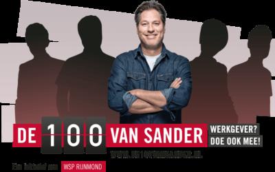 De 100 van Sander, doe ook mee!