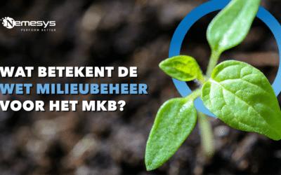 Wat betekent de wet milieubeheer voor het MKB?